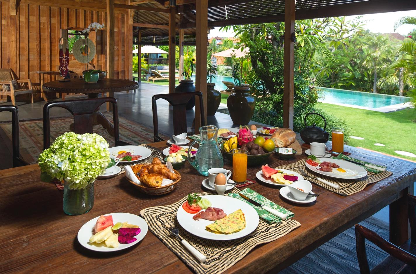 Food Yoga Maya Retreat Bali