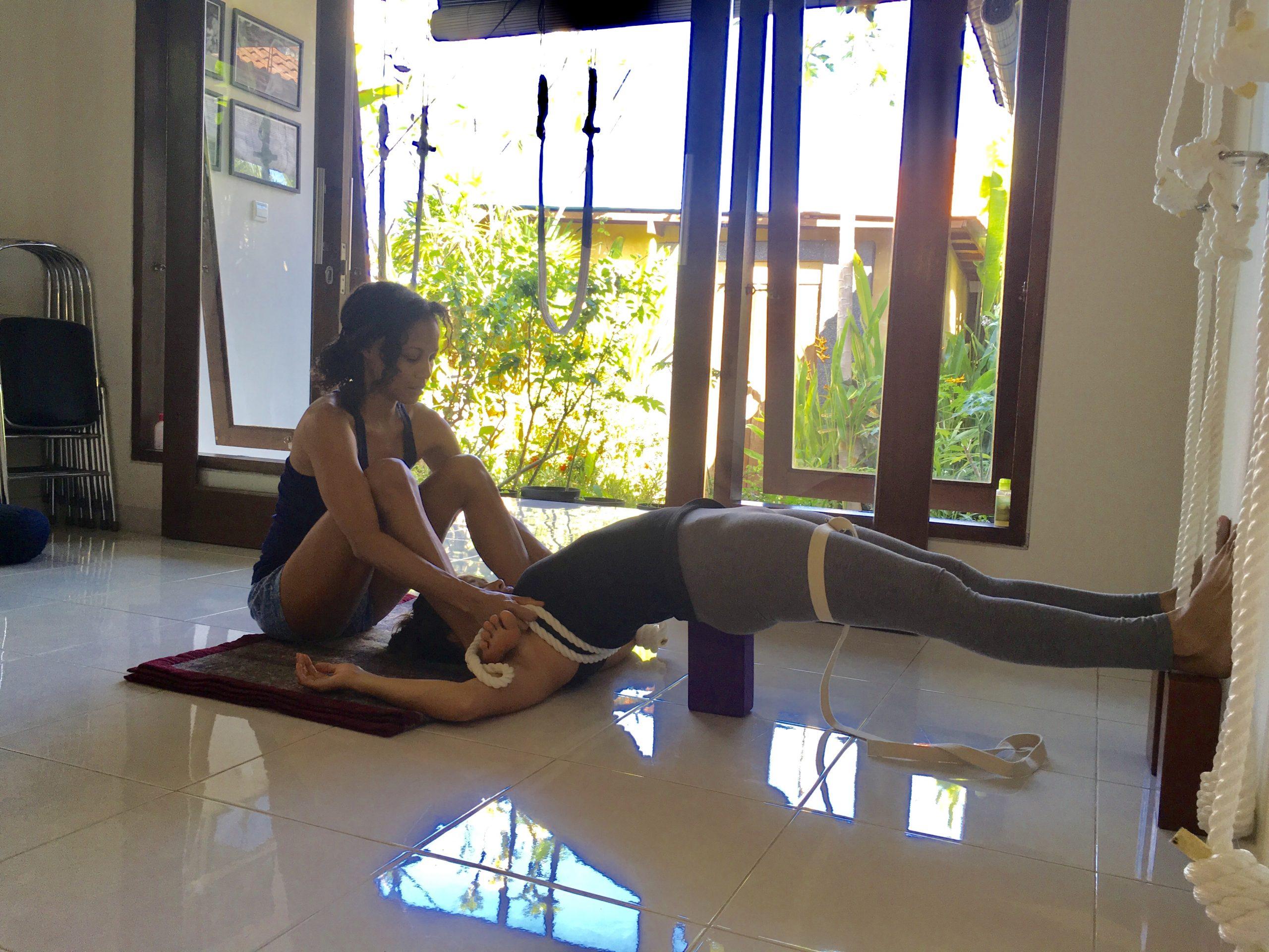 Setu Bandha Maya Yoga Bali Iyengar Retreat