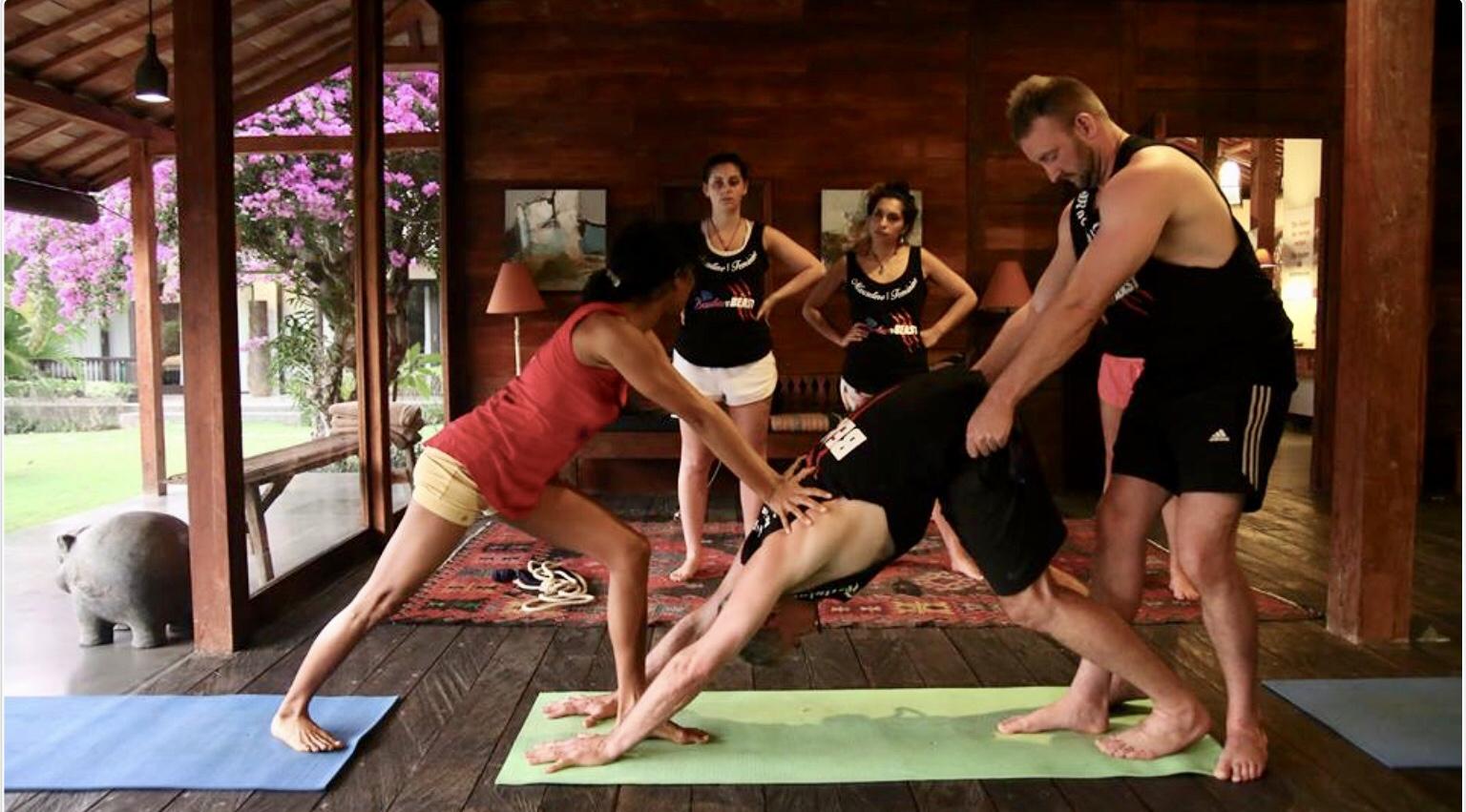 Yoga Pose1 Bali Ada Muka